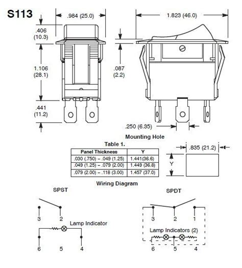 Lighted Rocker Switch Wiring Diagram Decoratingspecial