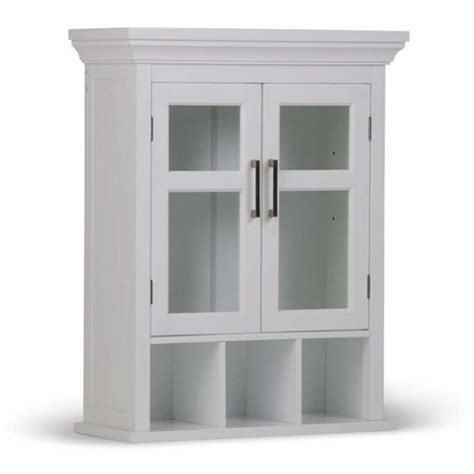 Target Bathroom Cabinets On Wall by Avington Two Door Wall Cabinet With Cubbies 15 W X 10