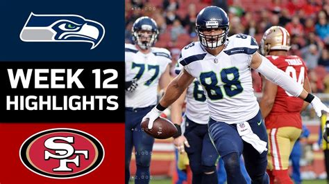 seahawks  ers nfl week  game highlights youtube