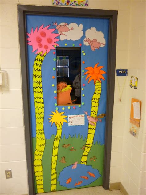 Door Decorations Artistic Freedom Seuss Door Decorating Results