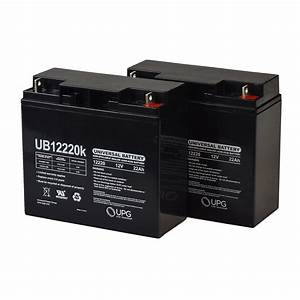 Half U1 22 Ah  18ah Upgrade  24 Volt Agm Mobility Scooter Battery Pack With Post Terminals