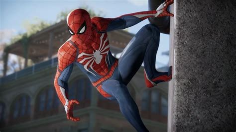 Spiderman's Suit Has Both Form And Function In Ps4