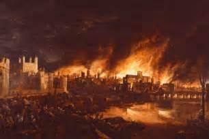 Great London Fire 1666