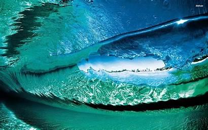 Waves Ocean Wave Wallpapers Underwater Sea Desktop