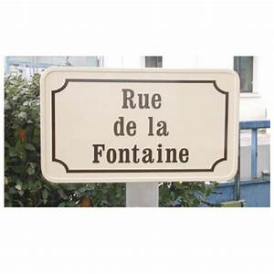 Plaque De Rue Personnalisée Extérieur : panneau plaque de rue stocksignes ~ Dode.kayakingforconservation.com Idées de Décoration