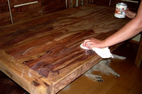 Sheesham Holz ölen Der Natürliche Schutz Gegen Flecken