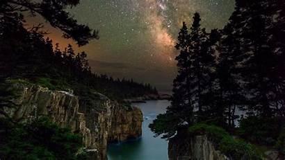 Acadia National Park Maine Milky Way Windows