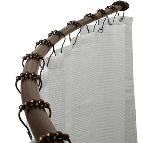 arista bath cr05 rb adjustable curved shower curtain rod
