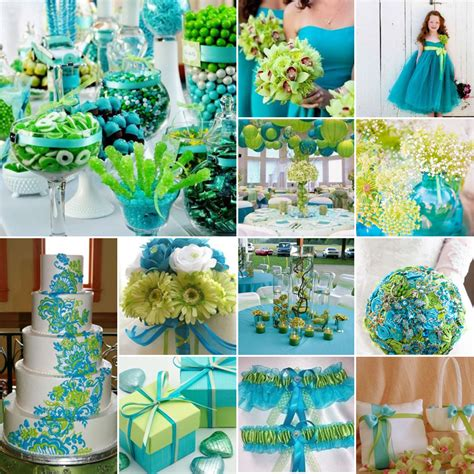 Lime Green And Turquoise { Fresh Flair }  South Africa