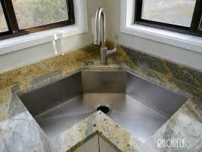 Grey Kitchen Sink by Corner Kitchen Sinks In Copper And Stainless Steel That