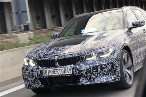 First Photos Of The 2019 Bmw 3 Series Touring G21