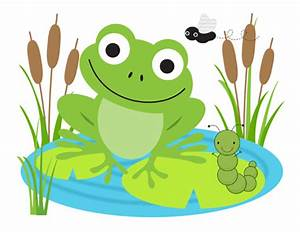 Frog Mural Wall Decals Baby Boy Girl Nursery Stickers ...