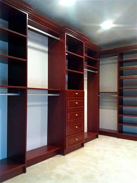 cherry master bedroom closet traditional closet
