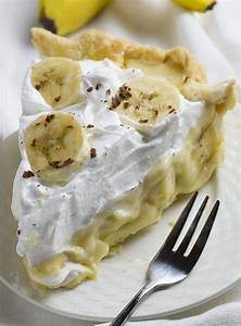Old Fashioned Banana Cream Pie | Chocolate Dessert Recipes ...