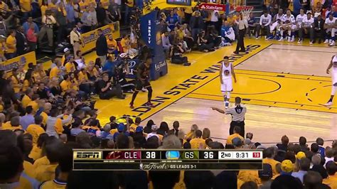 lebron blocks stephen curry cavaliers  warriors game