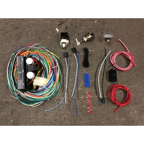 Ez Wiring 21 Circuit Harnes Ply by 21 Circuit Car Automotive Wiring Harness Chevy Mopar Ford