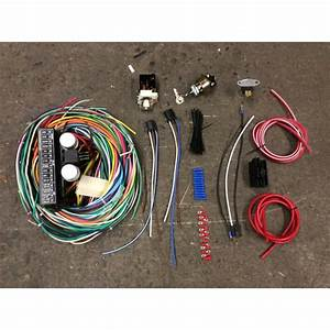 21 Circuit Car Automotive Wiring Harness Chevy Mopar Ford