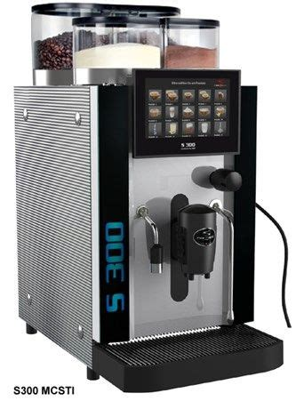 We guarantee our coffee to always be fresh. Rex Royal S300 Super Automatic Espresso Machine with Milk Frother   Coffee Bean Dispensers ...
