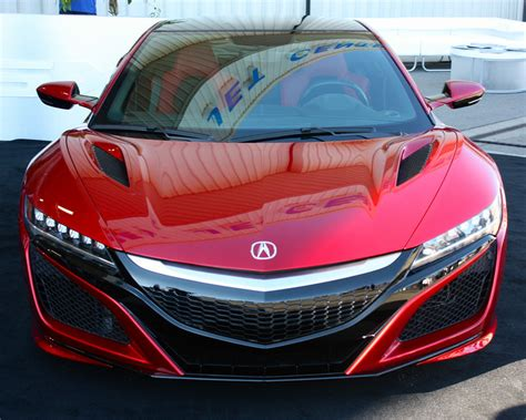 2016 acura nsx top speed