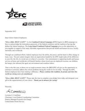 full form of organisations fillable online view the full list of cfc organizations
