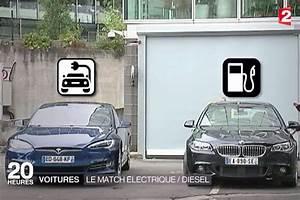 Tesla Aix En Provence : electrique vs diesel quand tesla s invite au jt de france 2 ~ Medecine-chirurgie-esthetiques.com Avis de Voitures