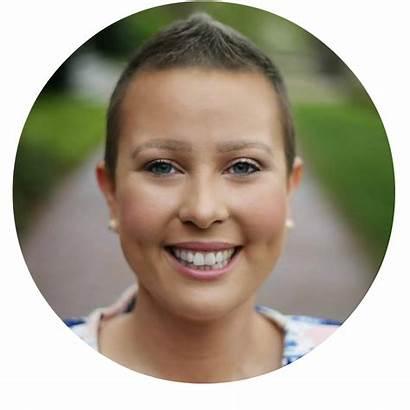 Chemo Hair Headshot Anna Round Growth Styling