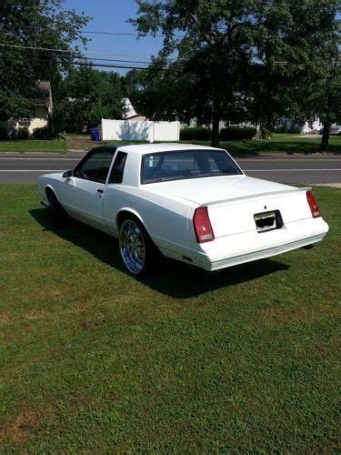 buy used 1987 chevy monte carlo ss t tops used good