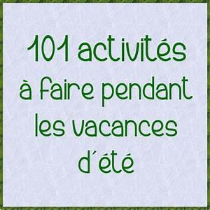 Activité Manuelle été : 101 activit s pour les vacances d 39 t ~ Melissatoandfro.com Idées de Décoration