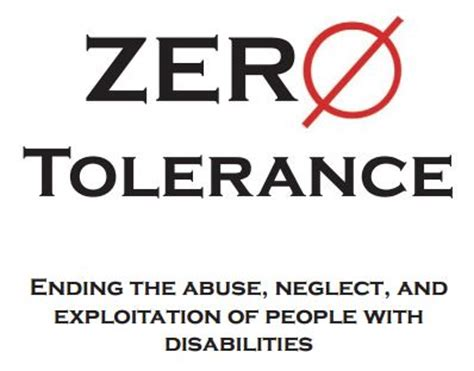 tolerance apd agency  persons