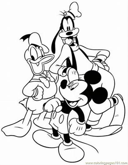 Mickey Mouse Coloring Printable Pages Mouse5 Cartoons