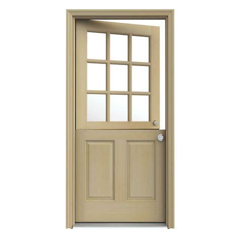 home depot jeld wen interior doors jeld wen 32 in x 80 in 9 lite unfinished wood
