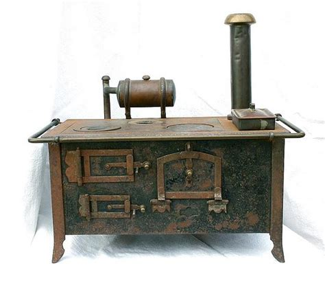 Vorführmodell Antik  Küchenherd Für Die Puppenküche Oder