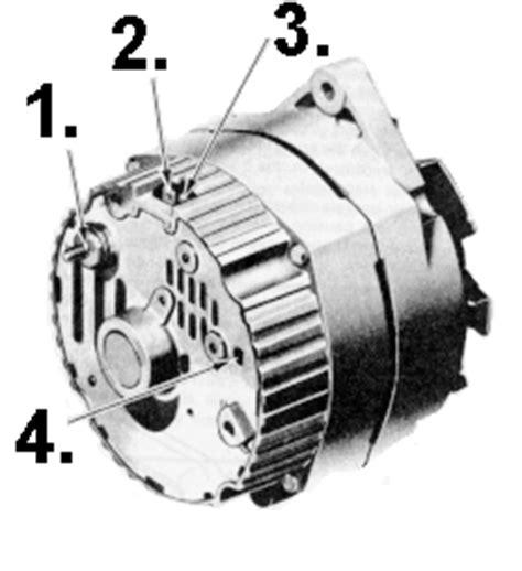 Wiring Delco Alternator