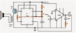 Class D Amplifier Circuit Using Ic 555