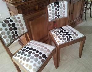 Tissu Pour Chaise : tissus pour recouvrir chaise meuble de salon contemporain ~ Teatrodelosmanantiales.com Idées de Décoration