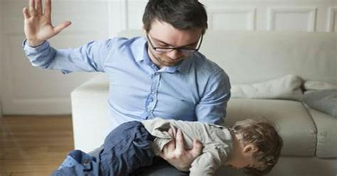 children   spanked     abusive adults
