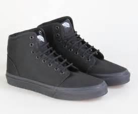 Black Vans Shoes High Tops