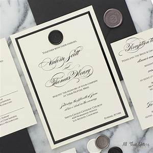 valerie wax seal wedding invitation suite all that With wedding invitations with sealing wax