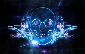 Skull Wallpaper by Junleashed on DeviantArt