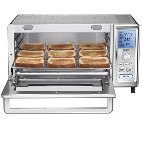 best countertop convection oven cuisinart tob 260 convection toaster oven review best