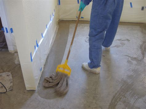 best solution for mopping floors stained concrete floors part i the homestead
