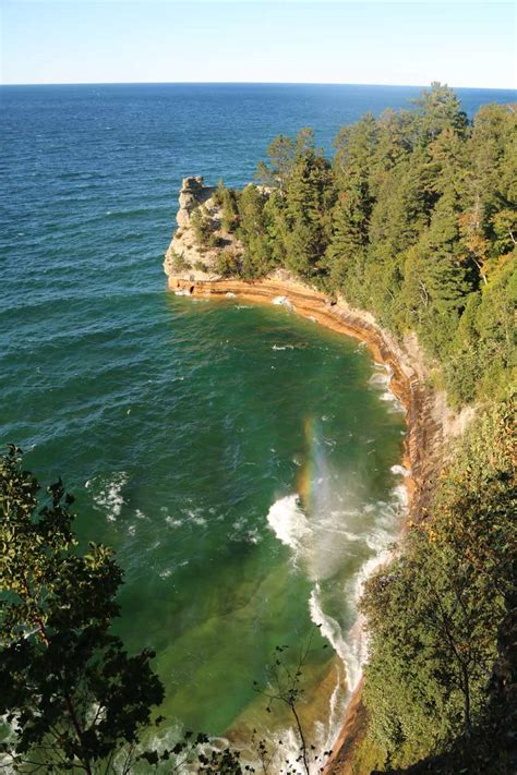 The company offers property and casualty insurance products including automobile, motorcycle, homeowner, and mobile home. Munising Falls - A Waterfall By A Pictured Rocks Base Town