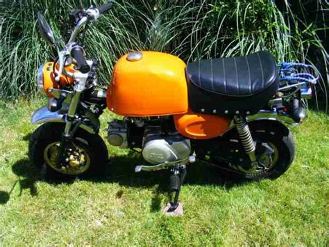 honda monkey nachbau quickfoot gorilla bj 2002 50 ccm 1475 km unfall und bastlermotorr 228 der