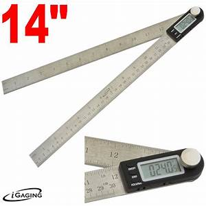 """12"""" DIGITAL ELECTRONIC PROTRACTOR MITER ANGLE FIND"""