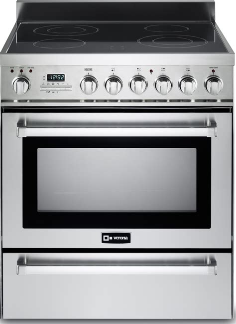 cleaning electric range verona appliances