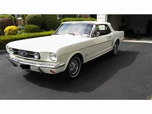 White Pony: 1966 Ford Mustang Convertible – $24,000 | GuysWithRides.com