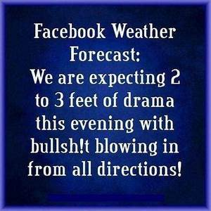 Facebook weather forcast - Jokes, Memes & Pictures