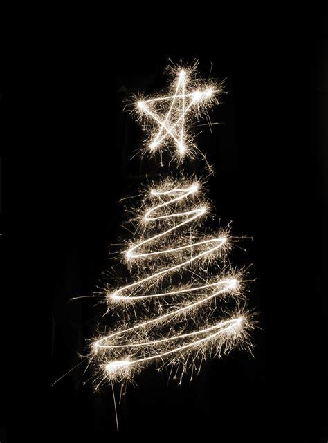 photo of sparkling xmas tree free christmas images