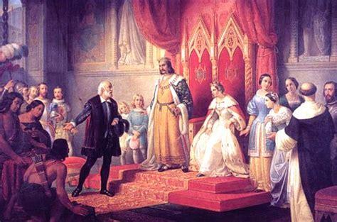 por  los reyes catolicos apoyaron  cristobal colon