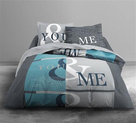 chambre d adulte complete housse de couette ado adolescent linge de lit housse